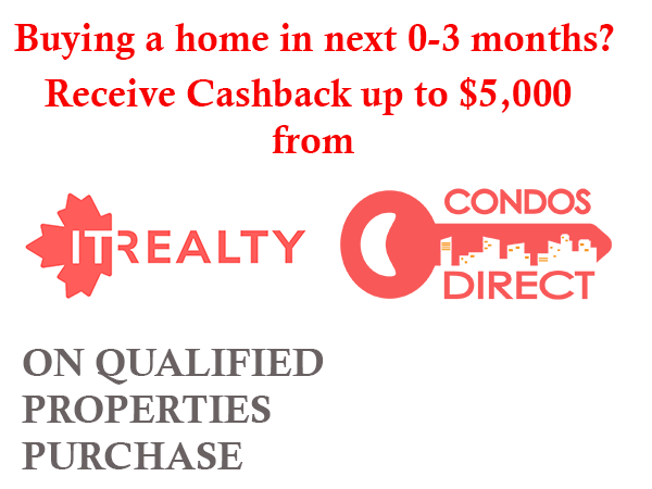 This property is qualified for a cashback
